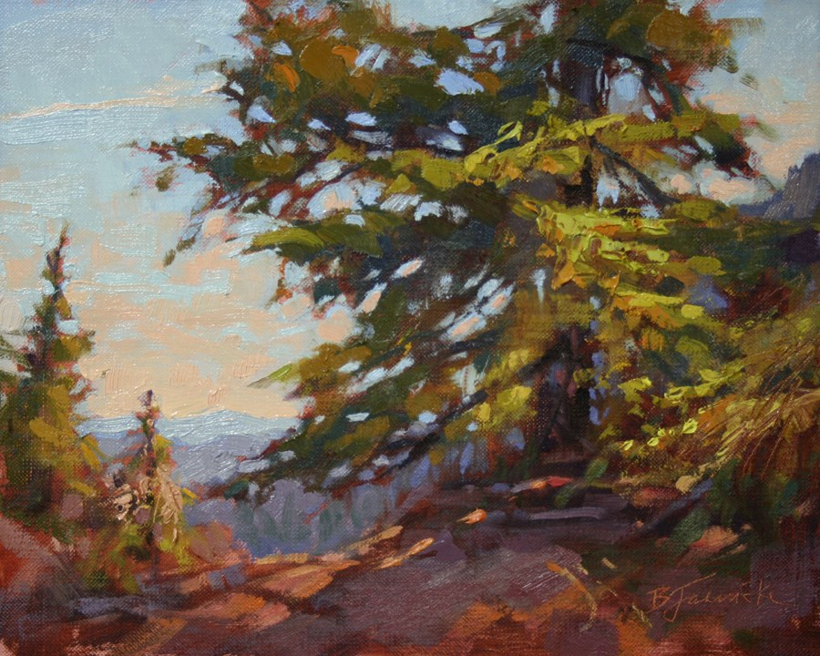 """The Climb to Paulina Peak"" original fine art by Barbara Jaenicke"