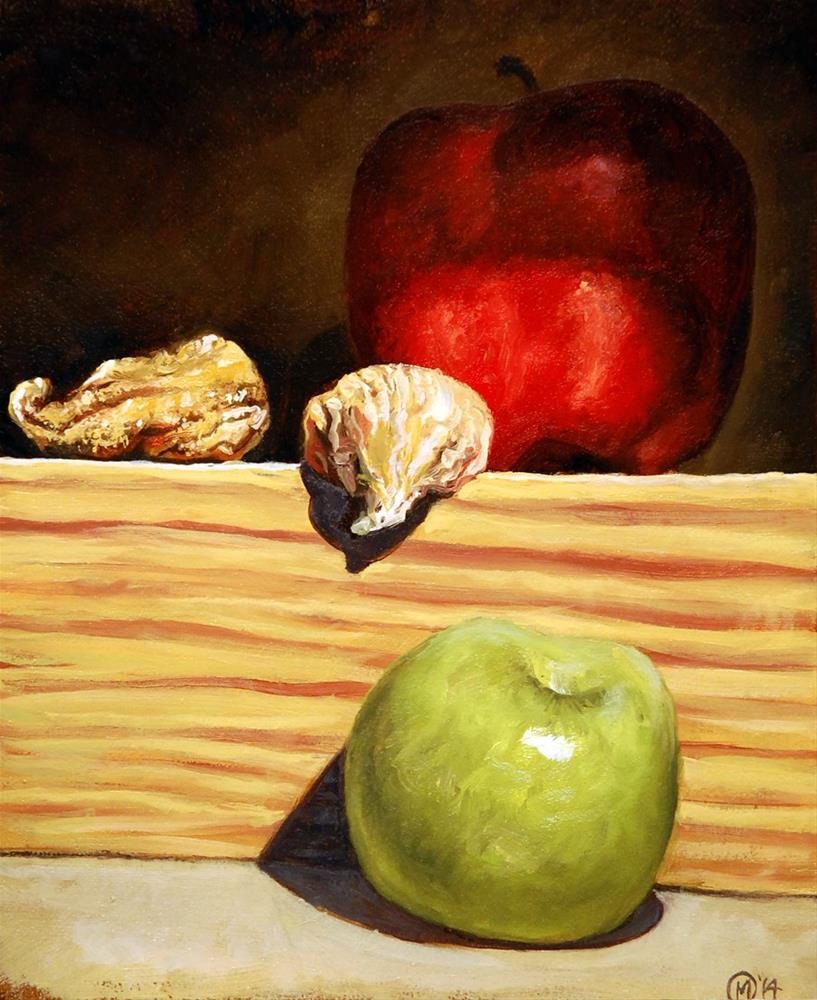 """Apples and Figs"" original fine art by Maurice Morgan II"
