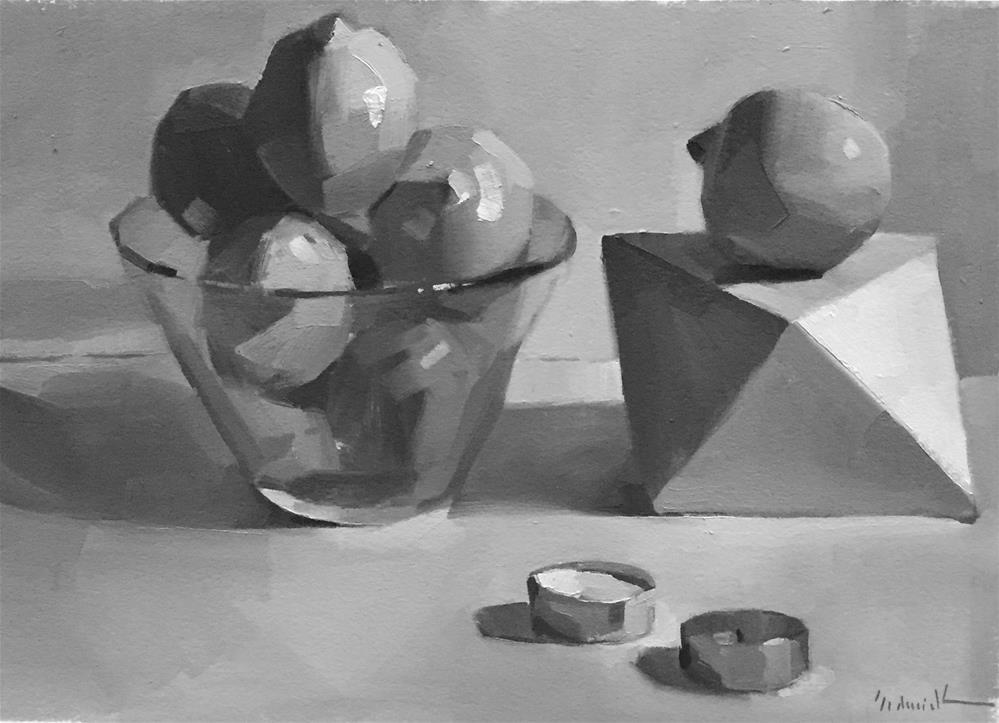 """Burnt Out (oil sketch)"" original fine art by Sarah Sedwick"