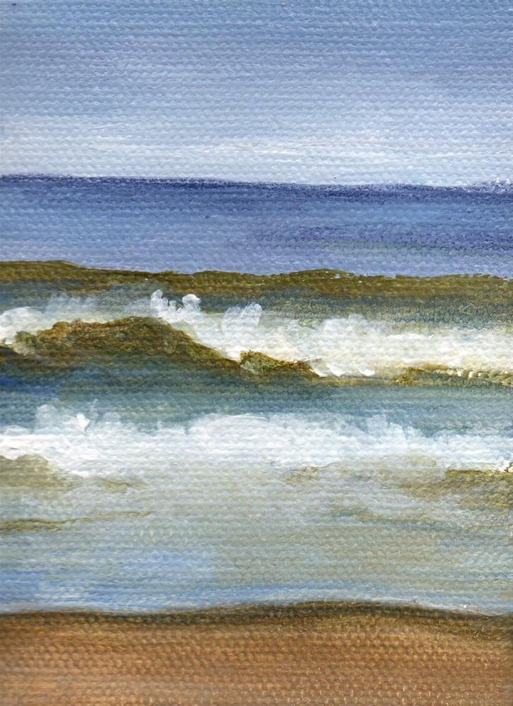 """Early Wave"" original fine art by Debbie Shirley"