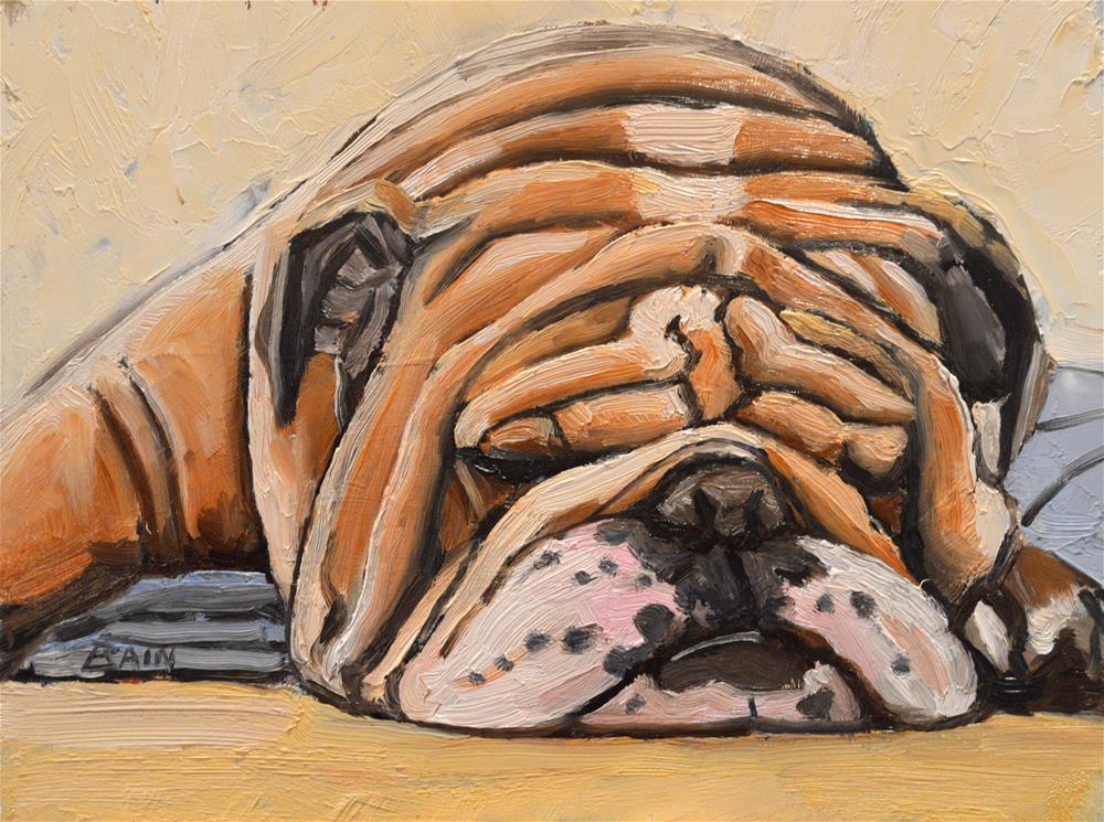 """""""Beauty Rest"""" original fine art by Peter Bain"""