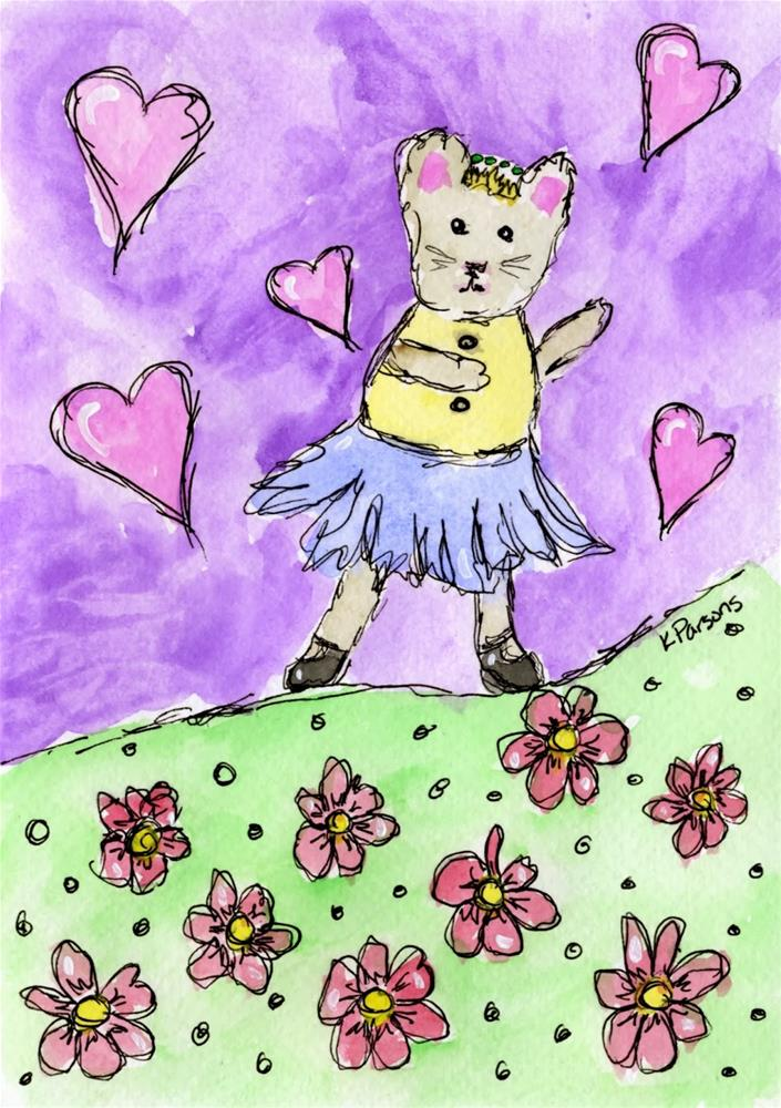 """Dancing Mouse"" original fine art by Kali Parsons"