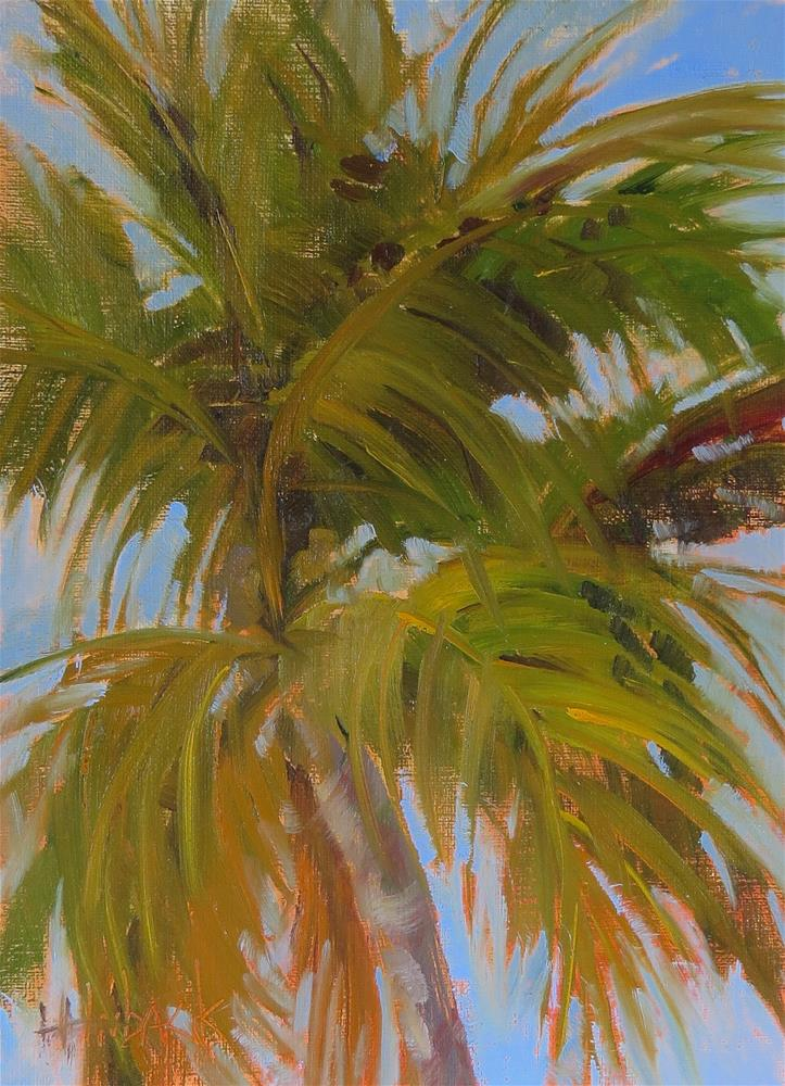 """Just A Light Breeze"" original fine art by Pam Holnback"