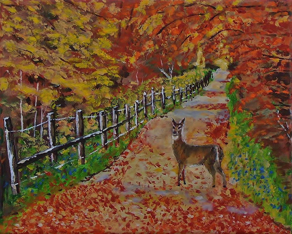 """I think I'm Lost"" original fine art by Mike Caitham"