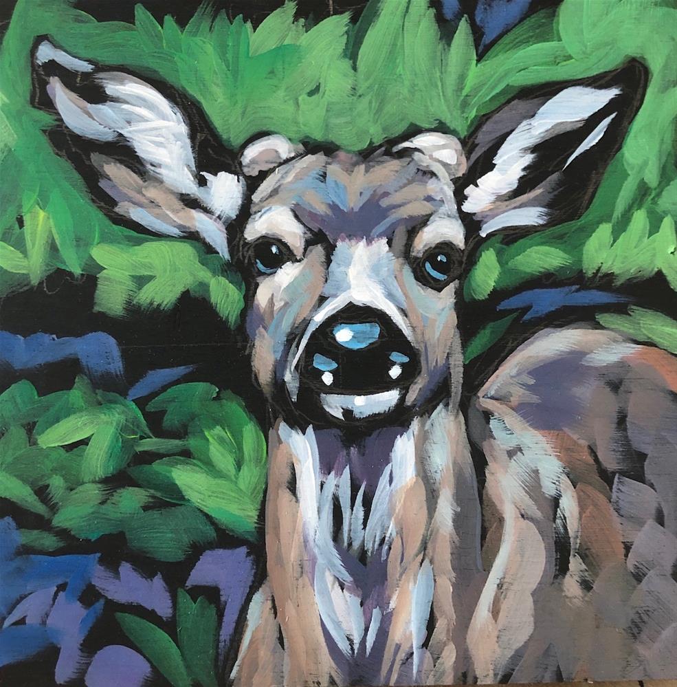 """Nubs"" original fine art by Kat Corrigan"