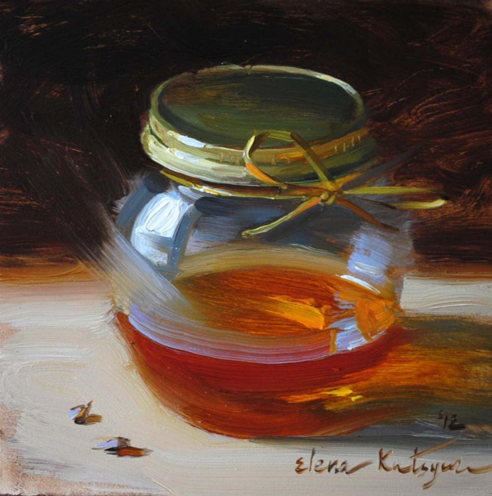 """Pot of Gold"" original fine art by Elena Katsyura"