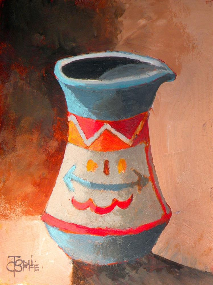 """Jug"" original fine art by Toni Goffe"