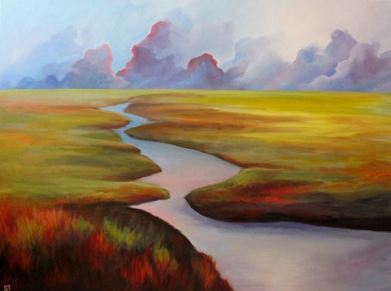 """Prairies North"" original fine art by ~ces~ Christine E. S. Code"