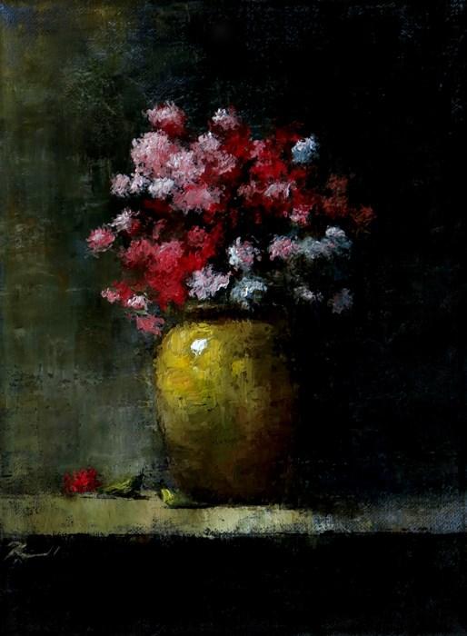 """Carnations"" original fine art by Bob Kimball"