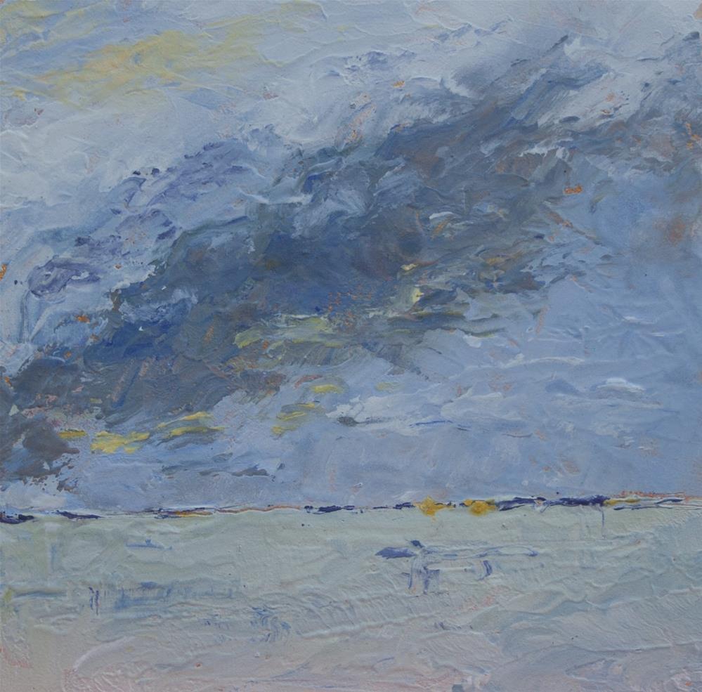 """""""Approaching Storm"""" original fine art by Maria McNitt"""