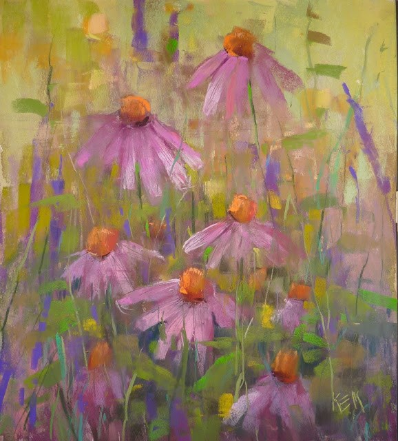 """""""A Tip For Choosing Color and a Cyber Monday Treat"""" original fine art by Karen Margulis"""