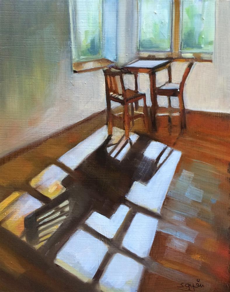 """""""The Nook"""" original fine art by Suzanne Gysin"""