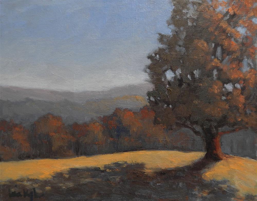 """Afternoon Gold"" original fine art by Lisa Kyle"