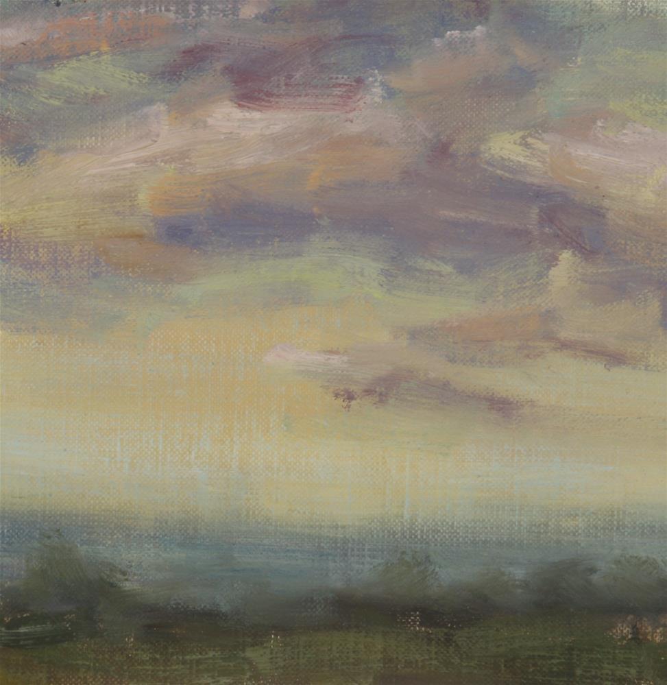 """""""Fall Sunrise 01"""" original fine art by Scott Serafica"""