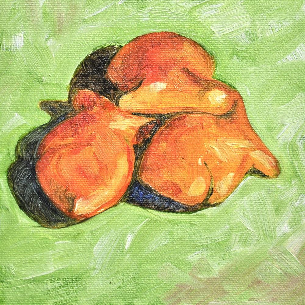 """""""Our Favorite Snack"""" original fine art by Theresa Gonzales"""
