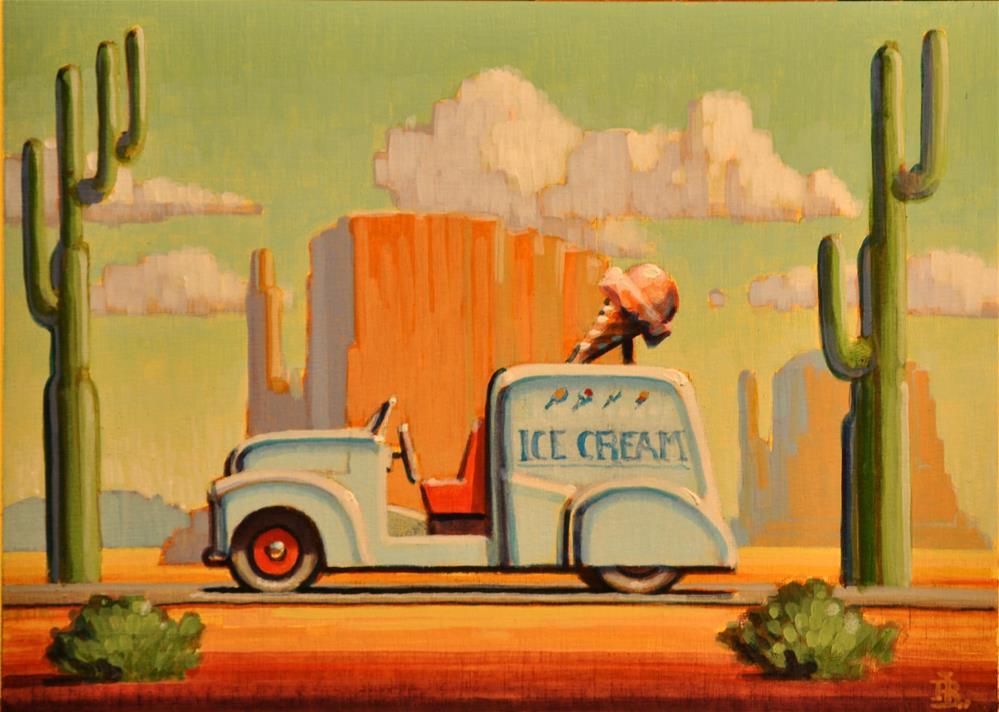 """Dessert"" original fine art by Robert LaDuke"