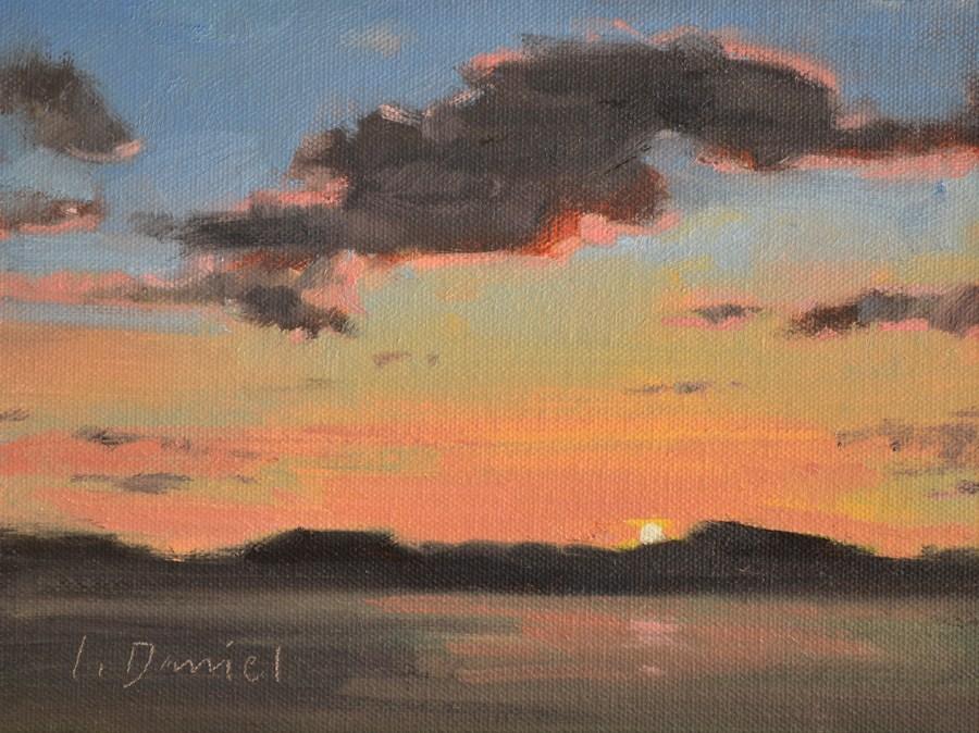 """Daybreak"" original fine art by Laurel Daniel"
