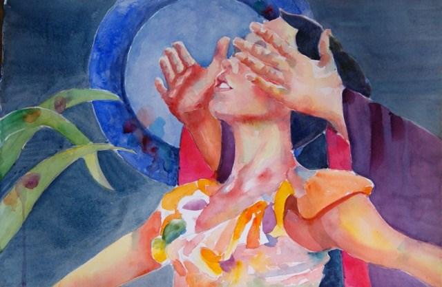 """""""The Phantom"""" original fine art by Reveille Kennedy"""