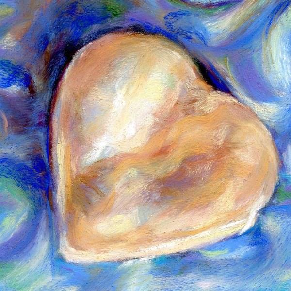 """COOKIE OF LOVE - 4 1/2 x 4 1/2 pastel by Susan Roden"" original fine art by Susan Roden"