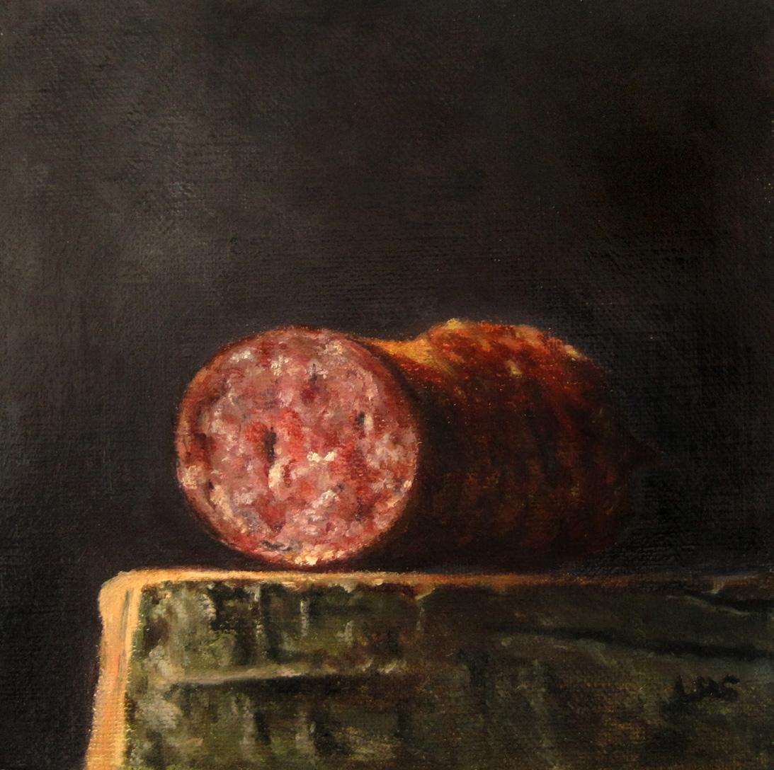 """""""Cabanossi"""" original fine art by Ulrike Miesen-Schuermann"""