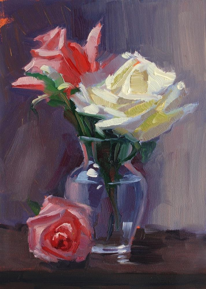 """No. 708 That Inner Glow"" original fine art by Susan McManamen"