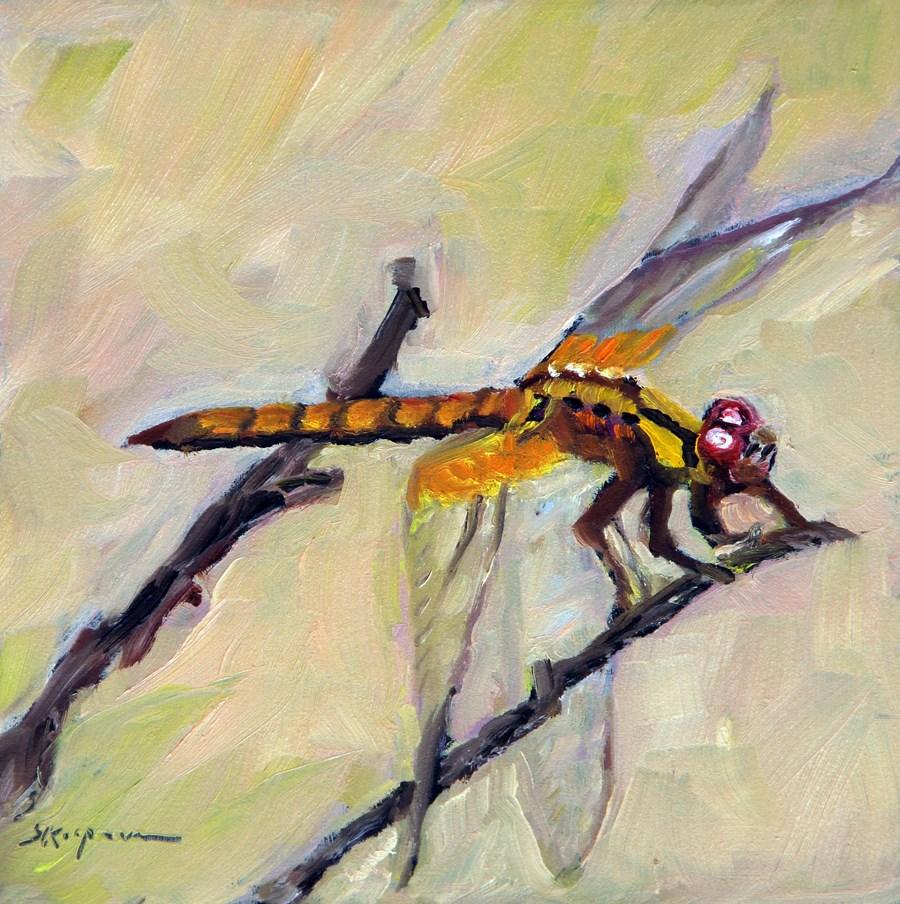 """""""Dragonfly"""" original fine art by Shelley Koopmann"""