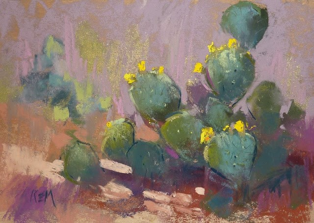 """""""An Important Tip for Getting the Most from an Art Workshop"""" original fine art by Karen Margulis"""
