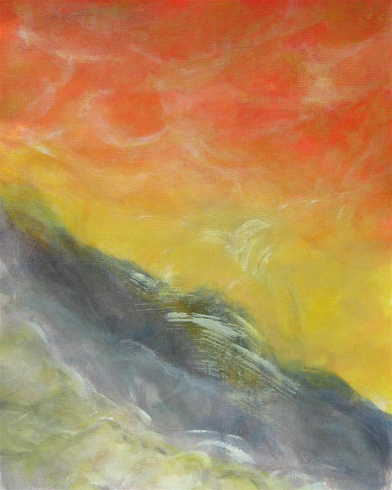 """""""A Piece Of Sky"""" original fine art by Alina Frent"""
