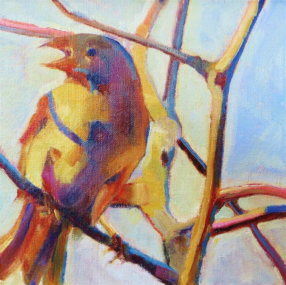 """""""Winter Wings"""" original fine art by Scarlet Owl Studio"""