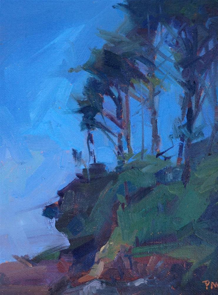 """Neptune's Trees"" original fine art by Patti McNutt"