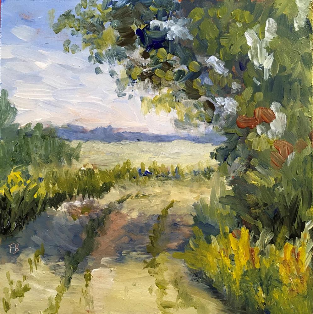 """115 Rural Road Respie"" original fine art by Fred Bell"