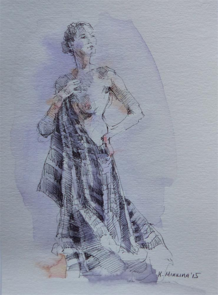 """sketchbook#13"" original fine art by Katya Minkina"
