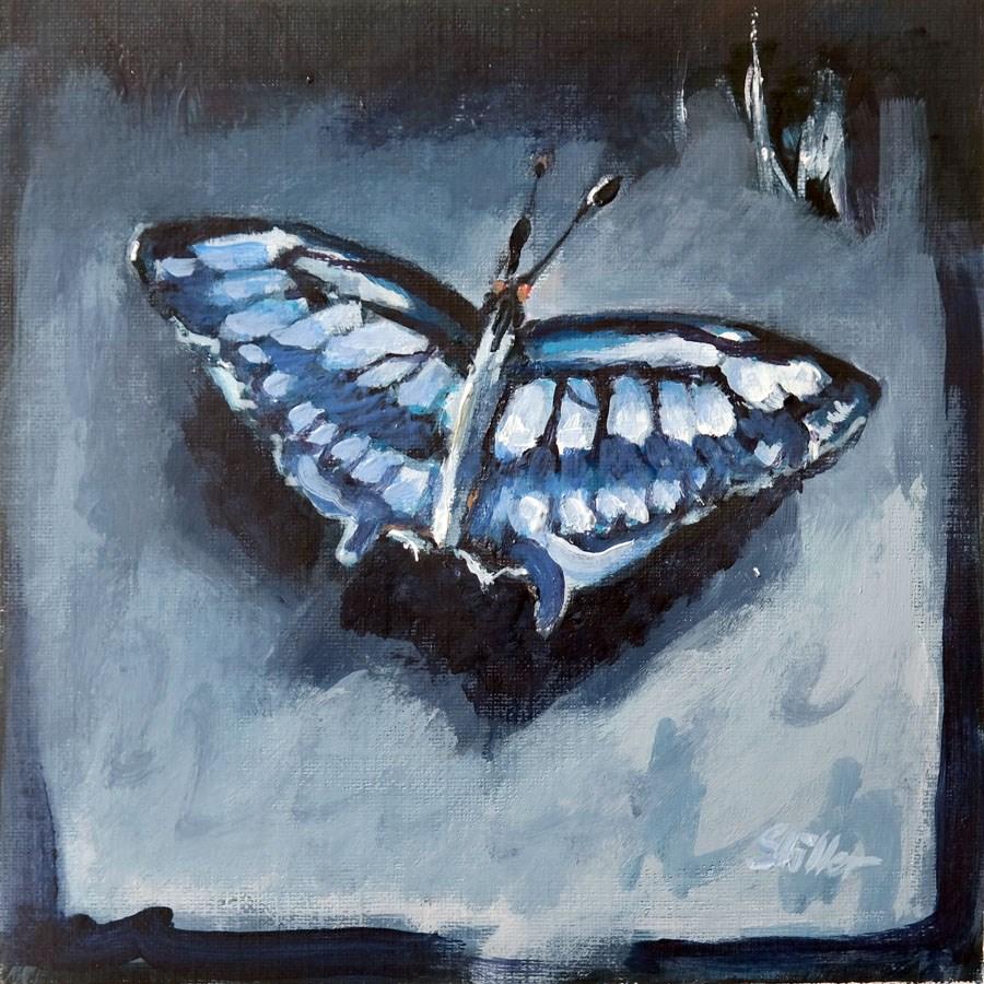 """""""1785 Butterfly Test"""" original fine art by Dietmar Stiller"""