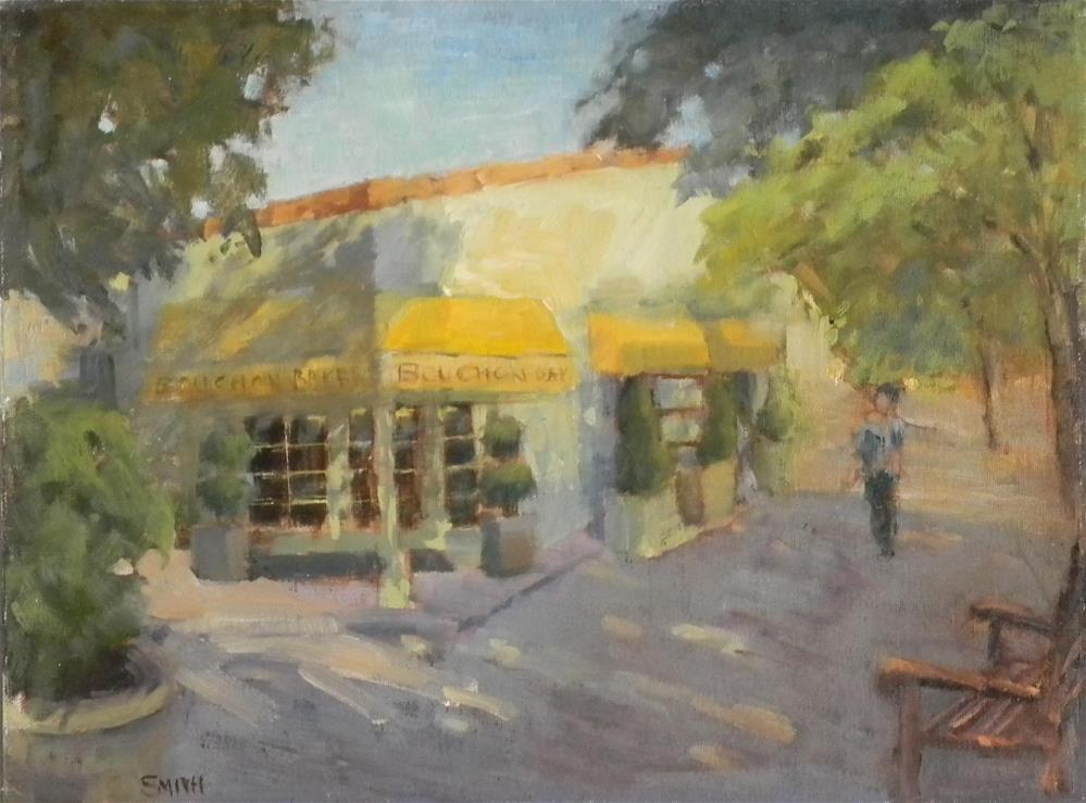 """Bouchon Bakery"" original fine art by Barbie Smith"