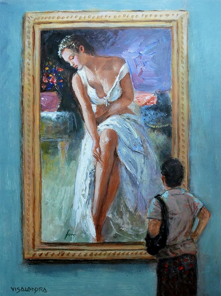"""pino series1"" original fine art by vishalandra dakur"