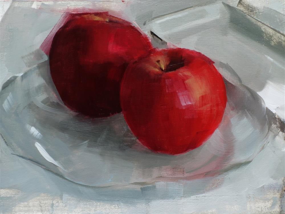 """Pink Lady Apples (no.110)"" original fine art by Michael William"