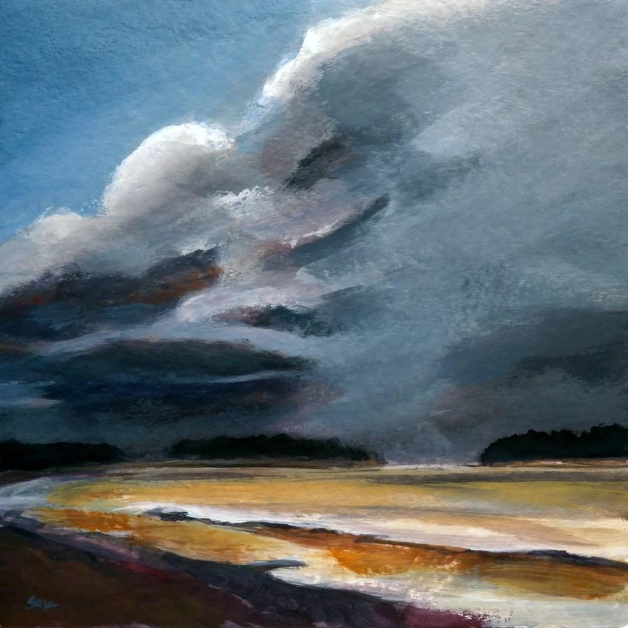 """""""1122 Storm Front"""" original fine art by Dietmar Stiller"""