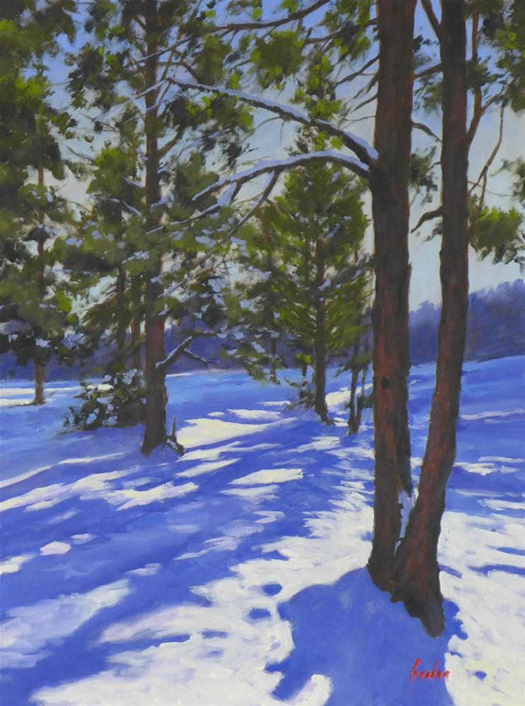 """Flagstaff sunrise"" original fine art by Graham Townsend"
