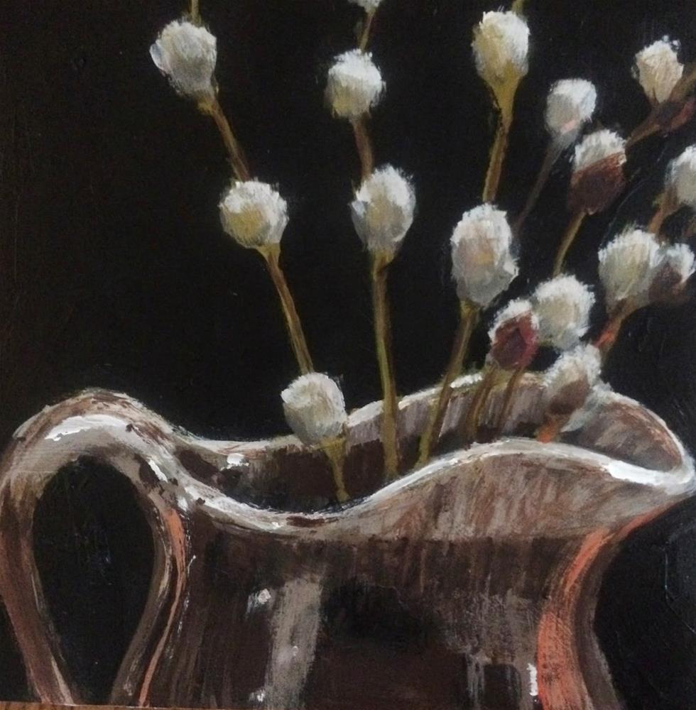 """Memories, 6x6 Inch Acrylic painting by Kelley MacDonald"" original fine art by Kelley MacDonald"