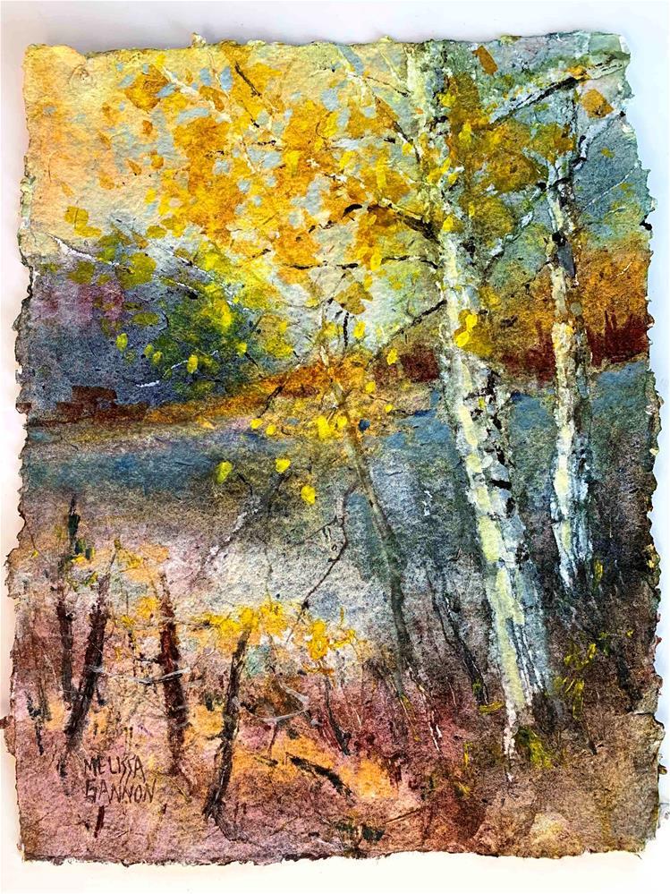 """Mysteries of Autumn"" original fine art by Melissa Gannon"