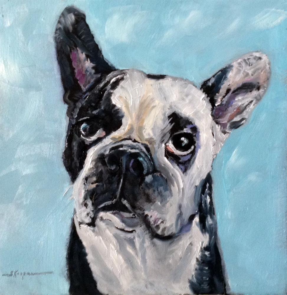 """""""Roxie"""" original fine art by Shelley Koopmann"""