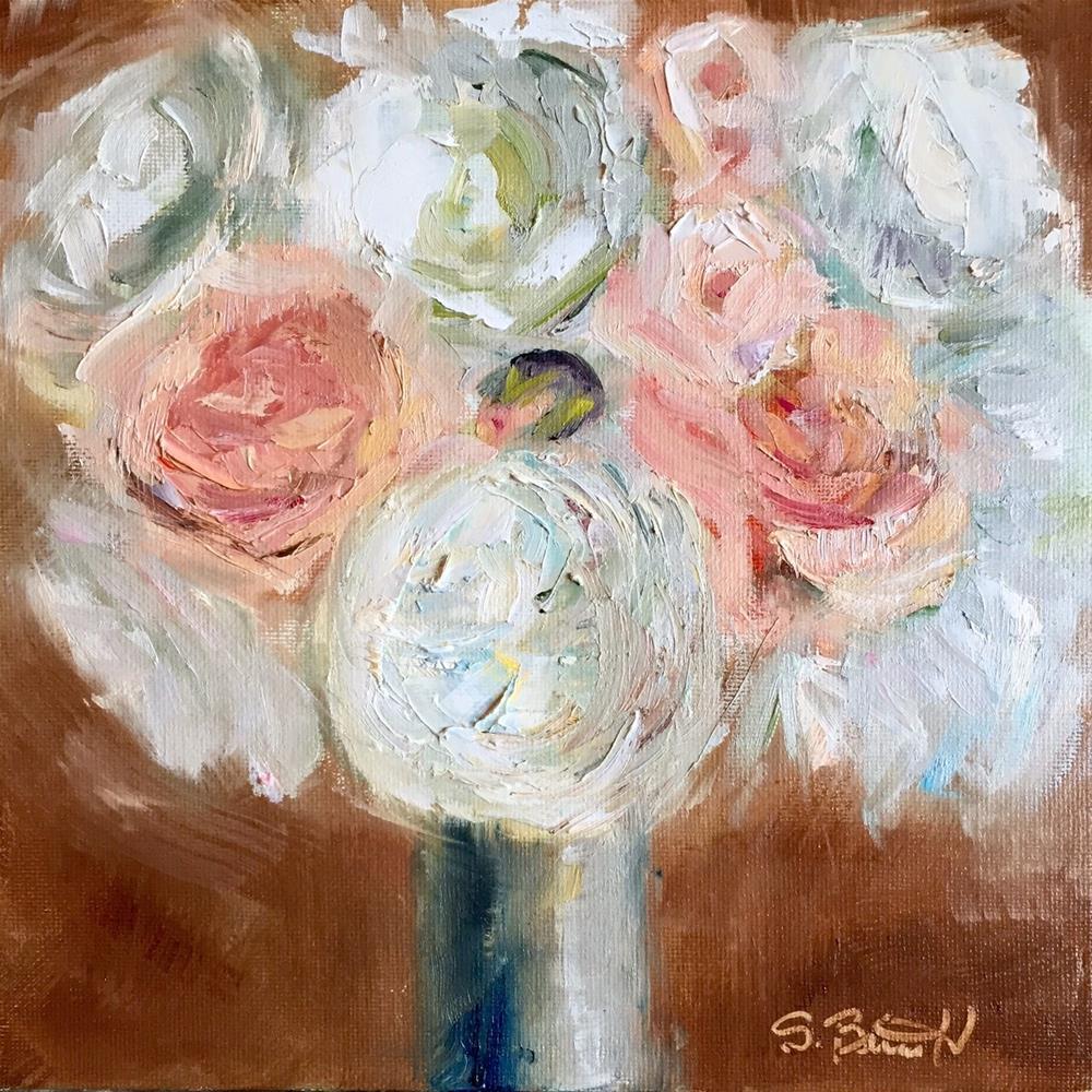 """Mrs. Dammann"" original fine art by Sherri Burritt"