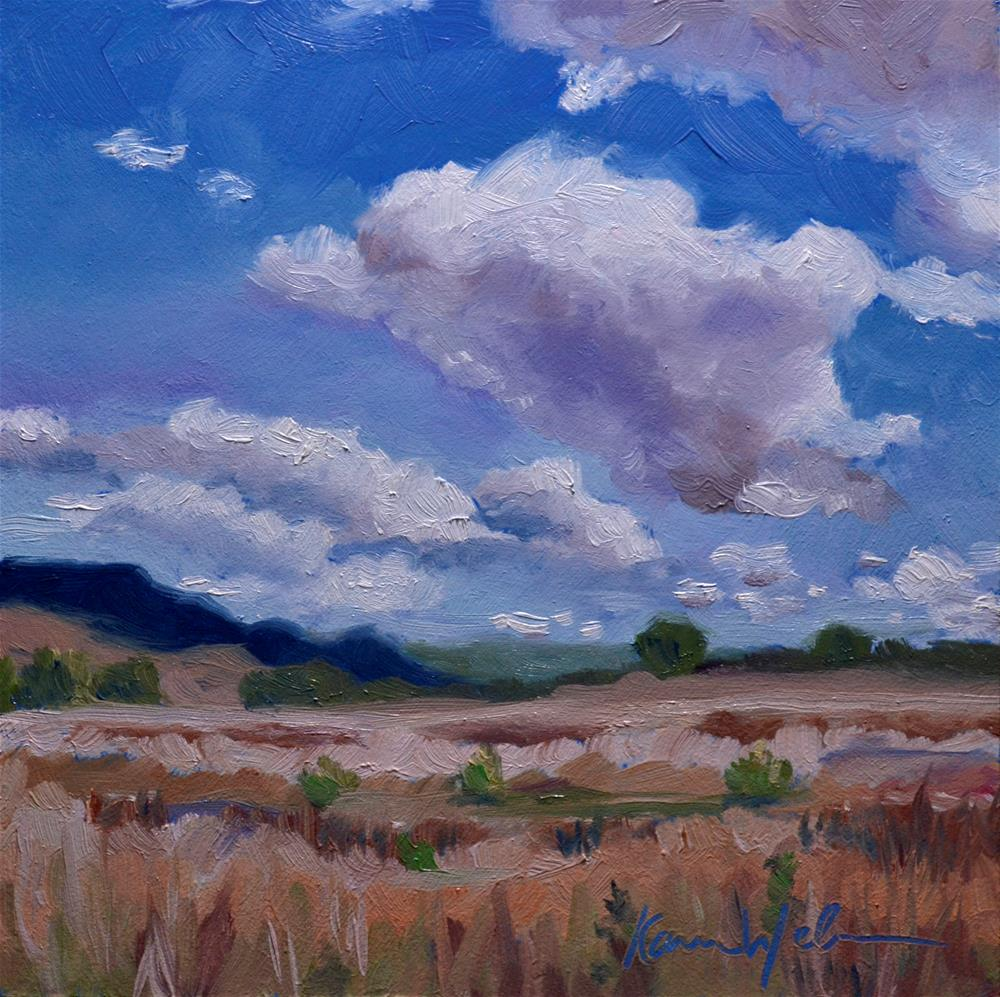 """""""Somewhere in Goias"""" original fine art by Karen Weber"""