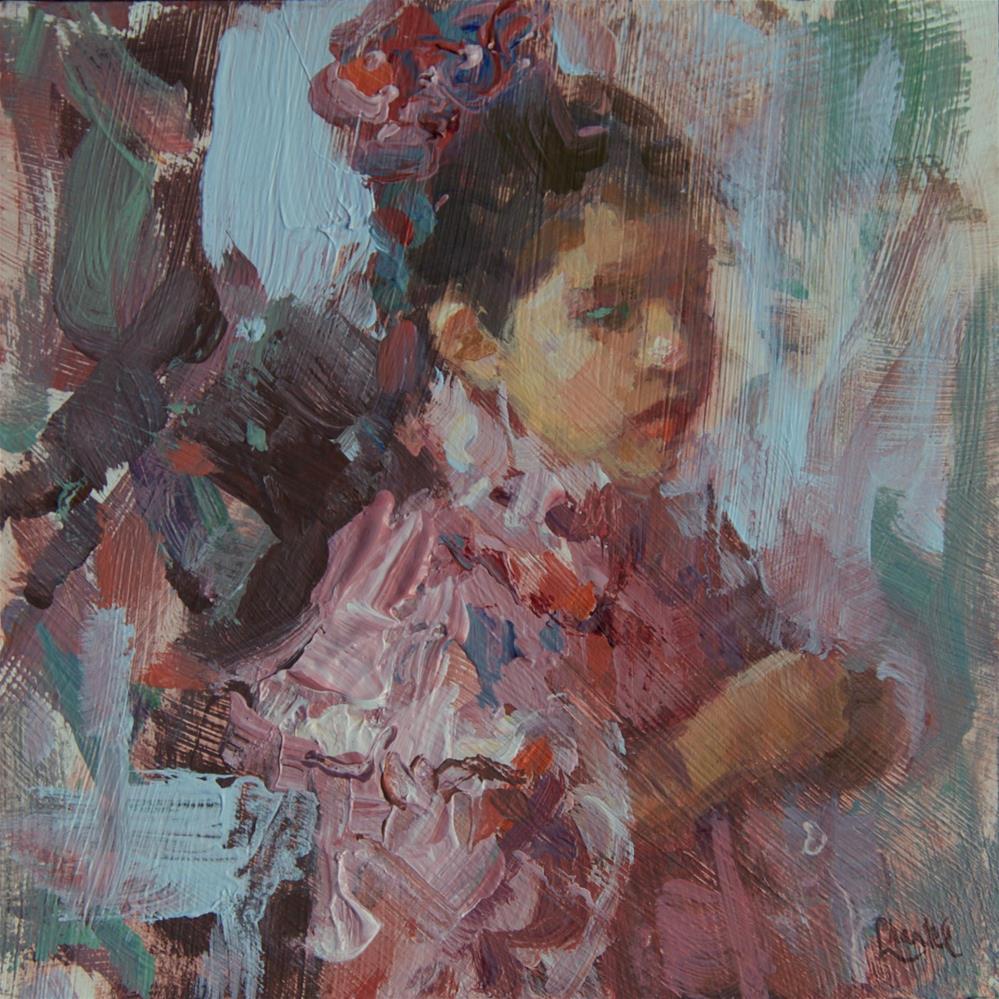 """Puffed Sleeves"" original fine art by Chantel Barber"