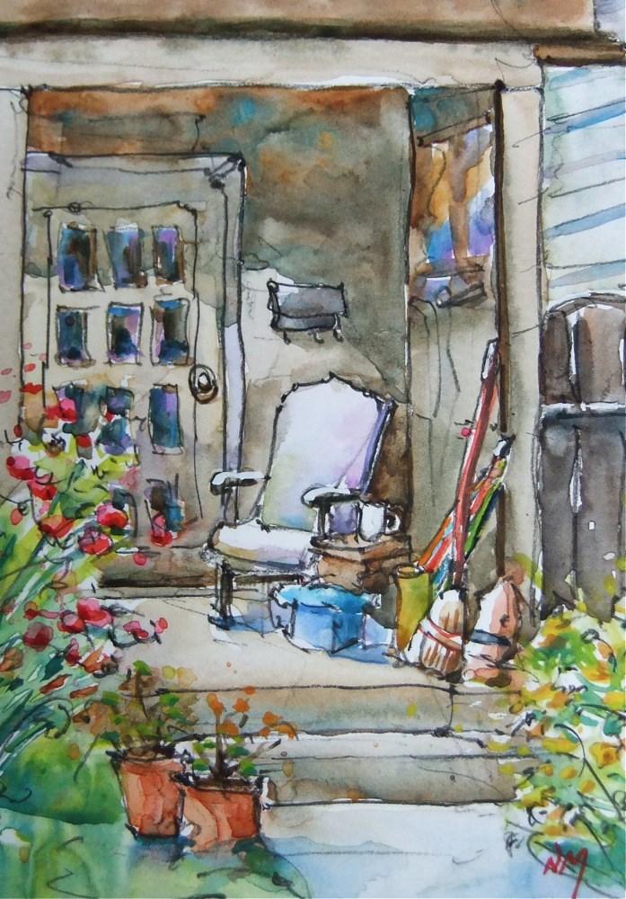 """home stretch"" original fine art by Nora MacPhail"