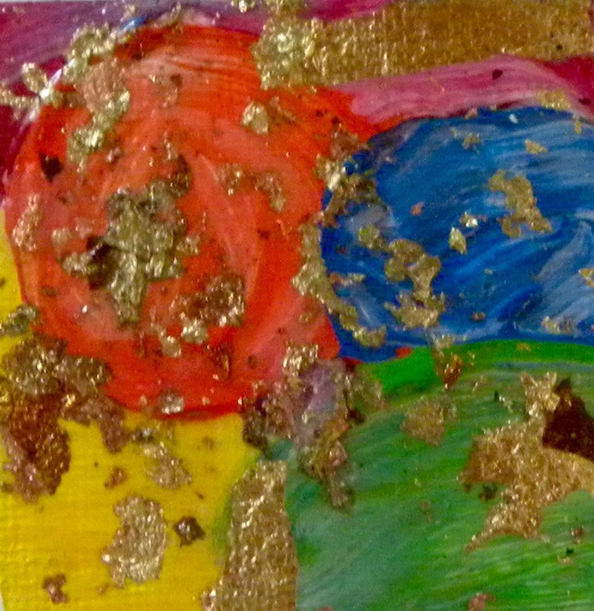 """Birthday Party"" original fine art by cheryl buhrman"