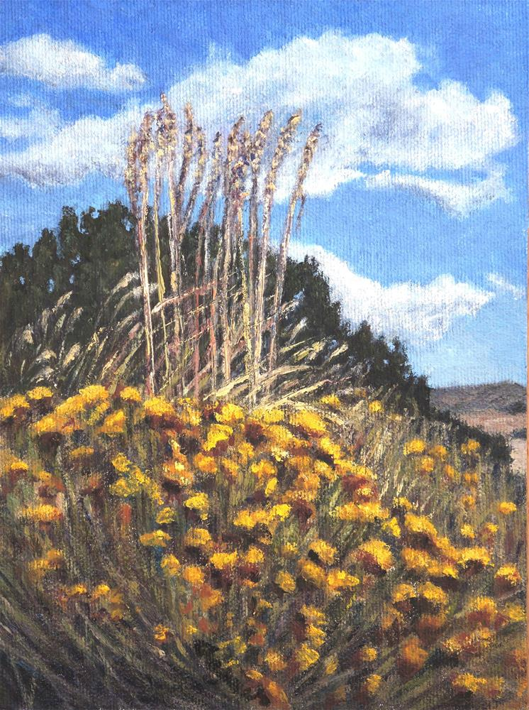 """Reaching For The Sky"" original fine art by Candi Hogan"