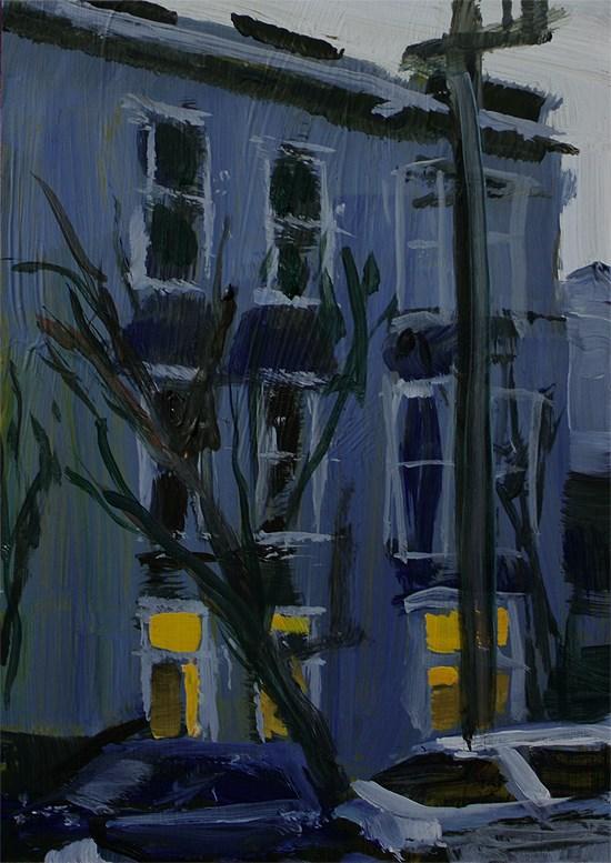 """Page House"" original fine art by J. Farnsworth"