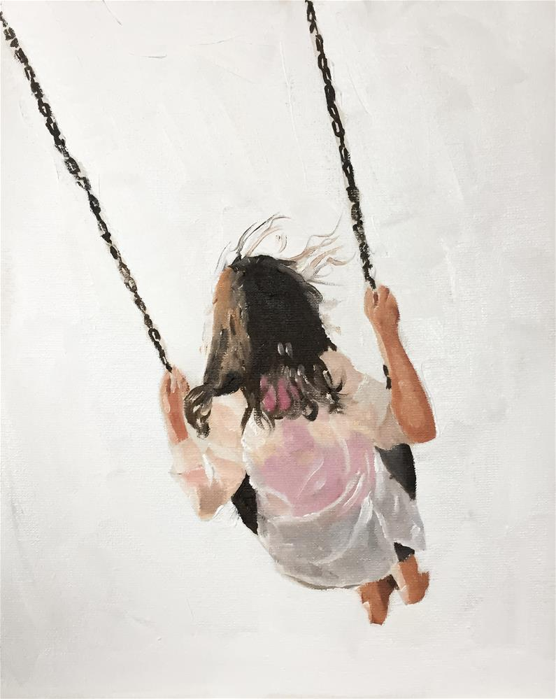 """Swing"" original fine art by James Coates"
