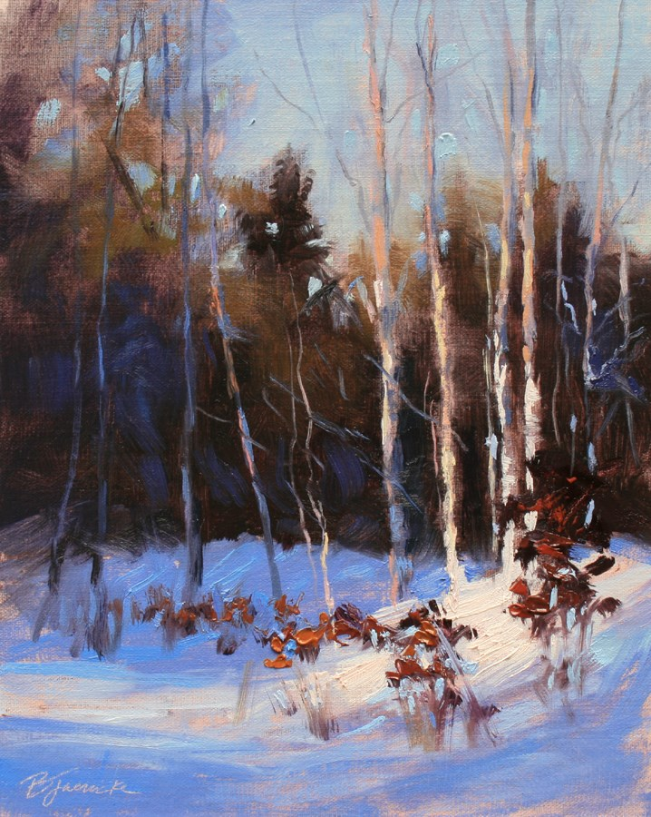 """Hot Spot"" original fine art by Barbara Jaenicke"